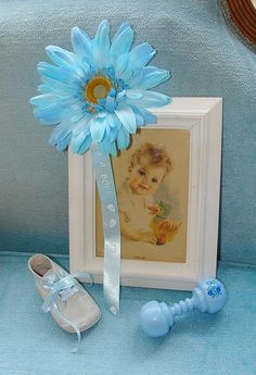 Vintage Baby Shower Decor for Baby Boy