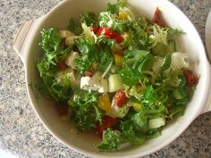 Throw-it-all-together salad!