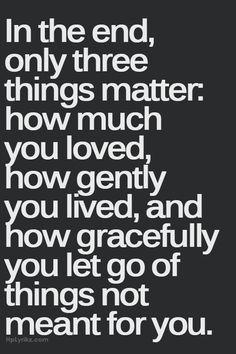 Let go and surrender :)
