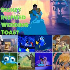 Disney Inspired Maid Of Honor Wedding Toast From Dinglehopper