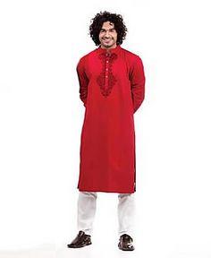 Mens Embroidered Kurta Shalwar Suits Brooklyn NY USA Eid Kurta for Mens Leisure Club