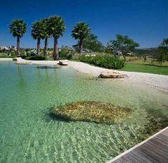Piscina Natural em Praia ecosys