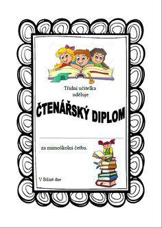 Výsledek obrázku pro pochvala třídního učitele vzor Class Displays, Montessori, Language, Scrapbook, Teaching, Education, School, Frame, Books