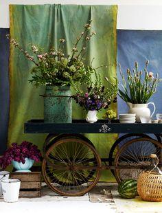 Visual merchandising. VM. Retail store display. Florist.