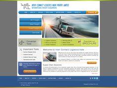 Logistic Website. Designed for Arksys Pvt. 2012