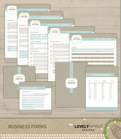 Items Similar To  Forms  Photography Business Forms Kit