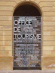 Wayfaring system for Metz #insegna #istallazione #tipografia #grafica #design
