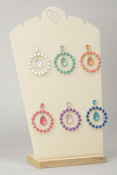 Orecchini/ Earrings, P/E 2013, VIA FRANCESCA By Barbieri Creazioni