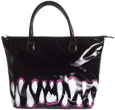 Iron Fist Timmy Chew Tote bag!  I love the idea of the fangs