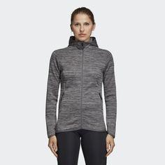 on sale 9e2b1 a43c9 FreeLift Climaheat Hoodie Charcoal Solid Grey   Grey DM4396 Grey Hoodie,  Adidas Women, Stay