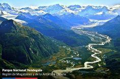 Parque Nacional Yendegaia.XII Región de Magallanes y Antártica Chilena. Prov. de Isla Grande de Tierra del Fuego. Chile. El Parque se ha integrado al Sistema Nacional de Áreas Silvestres Protegidas del Estado (SNASPE), y a partir de ahora lo administrará la Corporación Nacional Forestal (CONAF), que administra 37 Parques Nacionales, 49 Reservas Nacionales y 15 Monumentos Naturales, que conforman las 101 unidades del SNASPE a nivel nacional en Chile.