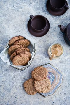 Flourless and Eggless Peanut Butter Cookies