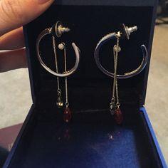Swarovski earrings Brand new never worn earrings! Swarovski Jewelry Earrings