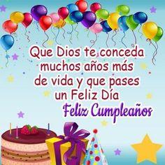 Happy Birthday Wishes Spanish, Happy Birthday Clip Art, Happy Birthday Status, Happy Birthday Greetings Friends, Happy Birthday Photos, Cool Birthday Cards, Happy Birthday Wishes Cards, Happy Birthday Parties, Birthday Cake