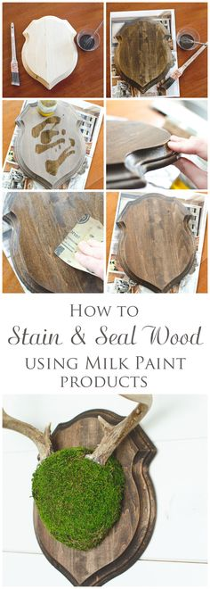 How to stain & seal