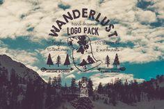 Wanderlust Logo Pack by Stella's Graphic Supply on @creativemarket
