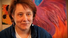Mary Munsell from Cape Cod, MA. #FHR #Studio35 #ArtTherapy www.fellowshiphr.org