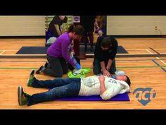 ACT High School CPR & Defibrillator Training Program for 20 high schools in the Region of Waterloo! @Dana Curtis Blake