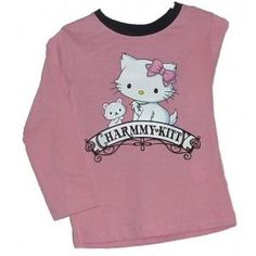 T-shirt Charmmy Kitty - rose -  manches longues