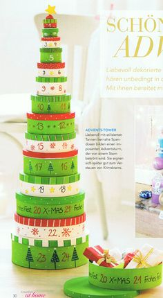 Advent Calendar tower