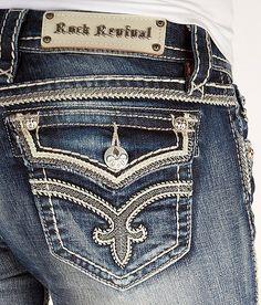 'Rock Revival Ashley Skinny Stretch Jean' #buckle #fashion www.buckle.com