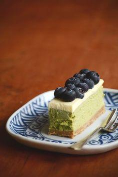 Green Tea And White Chocolate Cheesecake