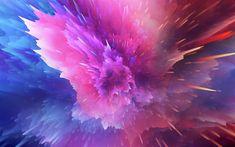 Download wallpapers paint splashes, 4k, art, creative, paints