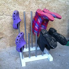 Welly rack