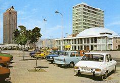 Alexanderplatz & Haus De Lehrers, DDR 1960's