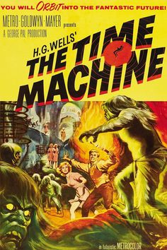 The Time Machine 1960 | The Time Machine ( 1960 ) 1 hrs 43 mins