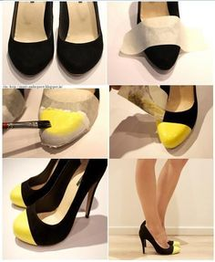 A way to spice up some Goodwill heels - Click image to find more hot Pinterest pins