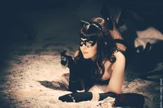 Catwoman by Breathless-ness, photo by Pireze.