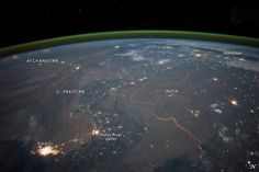 India Pakistan Border Captured From Space By NASA | Younews.in