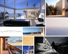⇢ #Casas en el mar  Inspira tu #arquitectura a golpe de ola  #moodboard #proyectos #residencial #viviendas