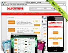 Create responsive and well designed coupon website even if you are new to the game. Minimal effort, maximum results.