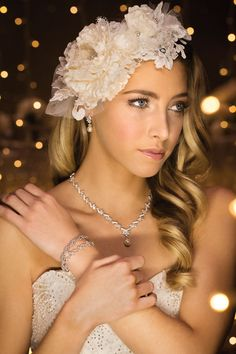 Jewellery & Hair Accessory by Wendy Louise Designs available from Belle Folie Design Studio // Featured in 'Light of My Life' a Modern Wedding fashion editorial, photographed by XSiGHT Photography #bride #wedding #hairpiece