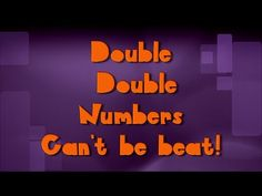 "Teach and review the addition of double numbers 1-10 (lyrics below) See more of Mr. R.'s free math resources at: <a href=""http://mathstory.com"" rel=""nofollow"" target=""_blank"">mathstory.com</a> LYRICS: Double, double ..."