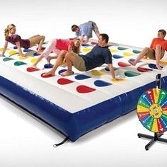 Inflatable Twister! AVAILABLE on www.awesomeinventions.com (New products are uploaded every day. You can view them on the front page of the website)