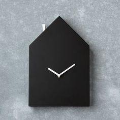 Chalkboard House Clock #westelm