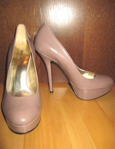 * * * NINE WEST Plateau-Pumps kakao, Gr.8M * * * | eBay Pumps, Heels, Nine West, Peep Toe, Ebay, Fashion, Heel, Moda, Fashion Styles