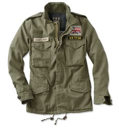 Just found this Steve McQueen Military Fatigue Jacket - Barbour%26%23174%3b Casual Thunder Jacket -- Orvis on Orvis.com!