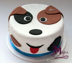 que linda forma de decorar una torta
