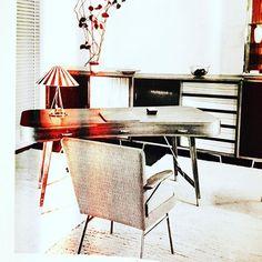 Furniture by Josef Hillerbrand for Deutsche Werkstätten. The desk and some more pieces will be available soon on www.19west.de! #19West #vintage #möbel #designklassiker #mcm #midcentury #modern #fifties #sixties #seventies #furniture #home #josefhillerbrand #deutschewerkstätten