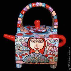 """Чайник """"Эхо зимы"""" (3D изображение) - чайник,предметы интерьера,скульптура"""