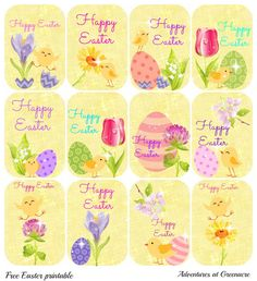 Free Easter Printables                                                                                                                                                                                 More
