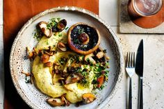 Eating in just got a whole lot more inviting thanks to this Italian-inspired dish of polenta that's filled with high protein mushrooms.