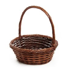 Basket Willow with handle Round PC Copper Basket Willow, Pamper Hamper, Copper Lighting, Handle, Baby Showers, Baskets, Easter, Organization, Deep