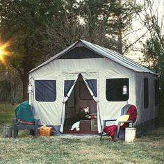 Barebones Safari Tent - Family Storehouse
