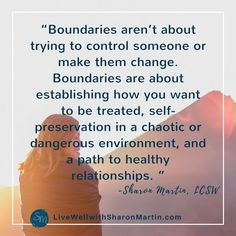 Setting boundaries with an alcoholic or addict isn't about control. It's a form of self-care.