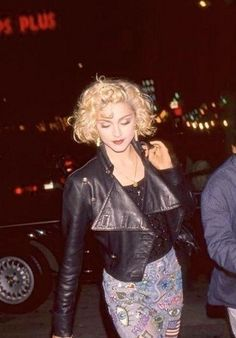 madonna - 80's nyc style For Kate's 80's themed party!